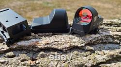 1x25 Mini Reflex Sight 3 MOA Dot Reticle Red Dot Sight Scope Picatinny QD Mount