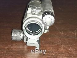 Aimpoint 11972 CompM4H 1 x 2 MOA QRP2 Red Dot scope in box with manual - CV165