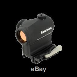 Aimpoint 200158 MICRO H-1 2 MOA Red Dot Sight with LRP Mount 39mm Spacer