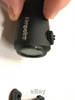 Aimpoint Micro H-1Red Dot Sight 4 MOA with Larue Tactical Quick Release Mount