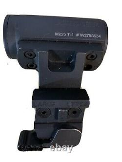 Aimpoint Micro T-1 T1 2MOA With Larue LT724 Mount Red Dot Weapon Sight