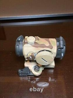 Aimpoint Micro T-2 2 MOA Red Dot Sight with LT751 LaRue Tactical Mount, MultiCam