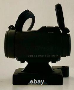 Aimpoint Micro T-2 2 MOA Red Dot Sight with Larue LT751 Quick Detach Mount