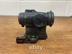 Aimpoint Micro T-2 Red Dot Reflex Sight With LaRue Tactical QD Mount 2 MOA