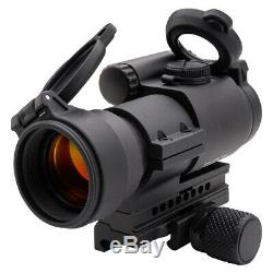 Aimpoint PRO Red Dot Reflex Sight with QRP2 Mount and Spacer, 2 MOA, 12841