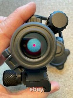 Aimpoint PRO Red Dot Sight with QRP2 Mount and Spacer 2 MOA 12841 No Box