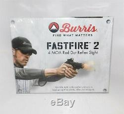 Burris FastFire 2 4 MOA Red Dot Reflex Sight #300233 without mount