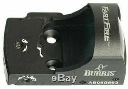 Burris FastFire II 4 MOA Red Dot Reflex Sight with Picatinny Mount, Matte 300232