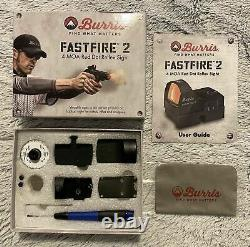 Burris Fastfire 2 Reflex Red Dot Sight 4 MOA with Picatinny Mount 300232