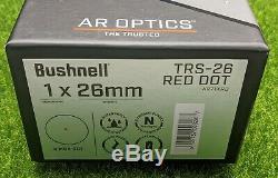 Bushnell Optics, The Trusted, TRS-26 Red Dot, 1X26, 3 MOA, Weaver AR71XRD