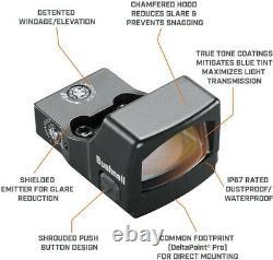 Bushnell RXS250 1x25mm 4 MOA Reflex Red Dot Sight RXS-250