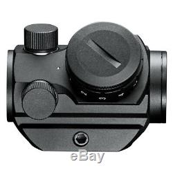 Bushnell TRS25 3 MOA Red Dot Gun Sight Rifle Scope with Hi Rise Picatinny Mount