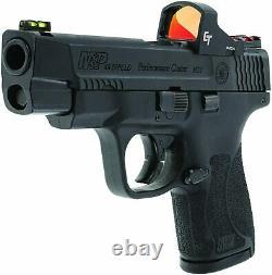 Crimson Trace CTS-1550 Ultra Compact Open Reflex Pistol Red Dot Sight 1x3 MOA