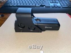 EOTech 512. A65/1 Holographic Red Dot Sight/68 MOA ring & 1 MOA dot reticle/Black