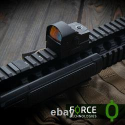 Force Mini Reflex Red Dot Sight RDS 1x25mm with one-button operation, 3.5MOA