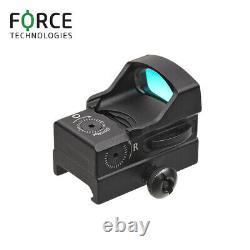 Force Mini Reflex Red Dot Sight RDS 1x28mm with 2-button operation, 3.5MOA retic