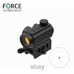 Force Reflex Red Dot Sight RDS 1x21mm with 2-button operation, 5MOA reticle
