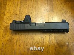Glock 19 gen 3 9mm complete milled slide Trijicon RMR 6.5moa red dot type 2 RM07