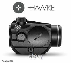 HAWKE 12102 Vantage Rotpunkt 1x20 Weaver 3 MOA RedDot Leuchtpunkt Rotpunktvisier