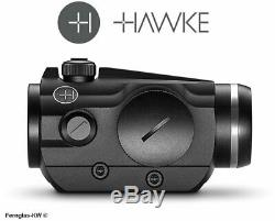 HAWKE 12103 Vantage Rotpunkt 1x25 Weaver 3 MOA RedDot Leuchtpunkt Rotpunktvisier