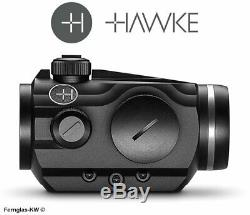 HAWKE 12104 Vantage Rotpunkt 1x30 Weaver 3 MOA RedDot Leuchtpunkt Rotpunktvisier