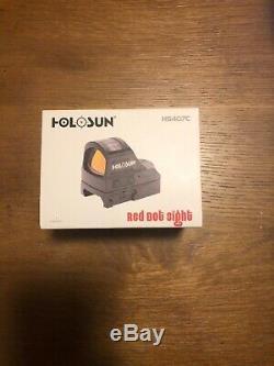 HOLOSUN HS407CV2 2MOA Red Dot Sight
