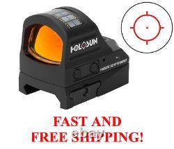 HOLOSUN HS507C X2 Reflex MRS Red Dot 2MOA Dot 32MOA Circle withMount FAST SHIP