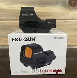 HOLOSUN HS510C 2 MOA Open Reflex Circle Dot Solar Power Holographic Red