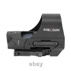 HOLOSUN HS510C Open Reflex Red Dot Sight 2 MOA Dot, 65 MOA Circle NEW