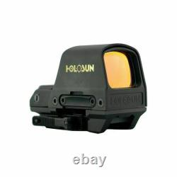 HOLOSUN HS510c 2 MOA Open Reflex Circle Dot Solar Power Red Sight FREE SHIPPING