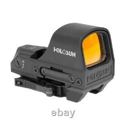 HOLOSUN Hs510c 2 MOA Open Reflex Circle Red Dot Sight withSight Cover