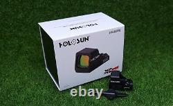 Holosun Classic Open Reflex Red Dot Sight 6 MOA Dot, Black HS407K X2
