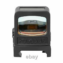 Holosun HE508T-V2 Red Dot Sight, 2 MOA Dot, Black, HE508T-V2