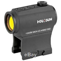 Holosun HS403B Paralow Red Dot Sight 1x 2 MOA Dot HS403B