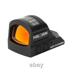 Holosun HS407C X2 Optical Red Dot Reflex Sight 2 MOA Dot Reticle