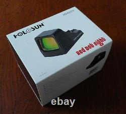 Holosun HS407K 6 MOA Red Dot Sight Black New in Box