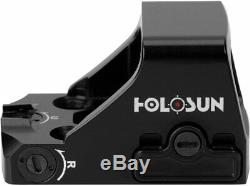 Holosun HS407K Red Dot Sight, 6 MOA Dot, Black, HS407K Reflex Red Dot Sight