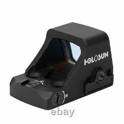 Holosun HS407K-X2 Classic Open Reflex 6 MOA Optical Red Dot Sight