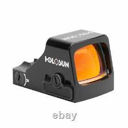 Holosun HS507K Red Dot Sight, 2 MOA dot, 32 MOA circle, Black, HS507K