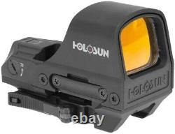 Holosun HS510C 2 MOA Dot & 65 MOA Circle Reflex Red Dot Sight