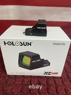 Holosun Hs507k X2 Micro Red Dot Pistol Sight 2moa 32 Moa Hellcat Glock P365