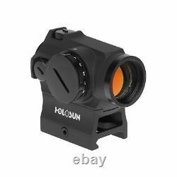 Holosun Micro Red Dot Sight, 2 MOA Circle Dot Reticle, MAO, Black, HE403R-GD
