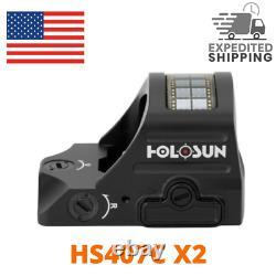 Holosun Red Dot Site RMR HS407C X2 Handgun Open Reflex Sight 2 MOA RMR-compact