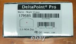 Leupold 179585 Delta Point Pro 2.5 MOA Red Dot reflex Sight FREE FAST SHIPPING
