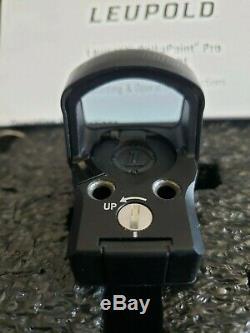 Leupold DeltaPoint Pro Reflex Sight NEW 2.5 MOA Red Dot, Matte Black 119688