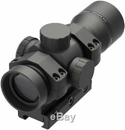 Leupold Freedom RDS 1x34, 34mm Red Dot 1/4 MOA Dot withMount, Black, 180092