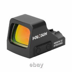 NEW Holosun 507K Red Dot Handgun 2 MOA Dot / 32 MOA Circle HS507K X2 New Version