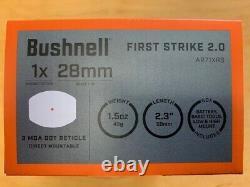 New Bushnell First Strike 2.0 Reflex Red Dot 3MOA Sight AR71XRS