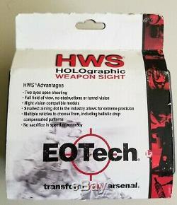New EOTech EXPS3-4 Black Holographic Holo Red Dot Sight 68MOA & 4x 1MOA EXPS34