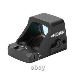 New Holosun Red Dot Handgun Reflex Sight 2 MOA Dot / 32 MOA Circle HS507K X2